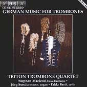 German Music for Trombones - Triton Trombone Quartet, BIS