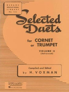 Selected Duets for Trumpet Book 2 (Advanced) by H. Voxman, pub. Hal-Leonard