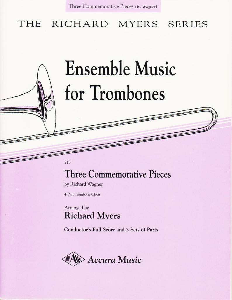 The Horn Guys - Three Commemorative Pieces for Trombone