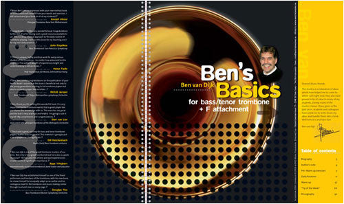 Ben's Basics For Trombone by Ben Van Dijk, pub. BVD Music