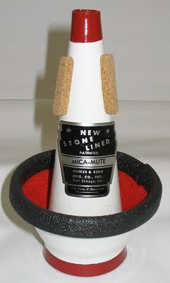 Humes & Berg Stonelined 104 Mica Cup Mute for Trumpet