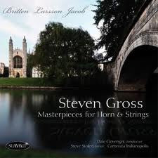 Masterpieces For  Horn And Strings - Steven Gross, Summit Records