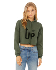 Level Up Crop Hoodie Sweatshirt!!