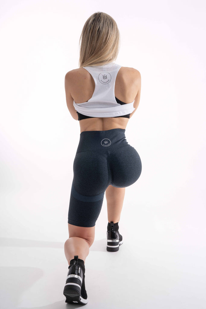 New FitQueen Booty Scrunch Shorts