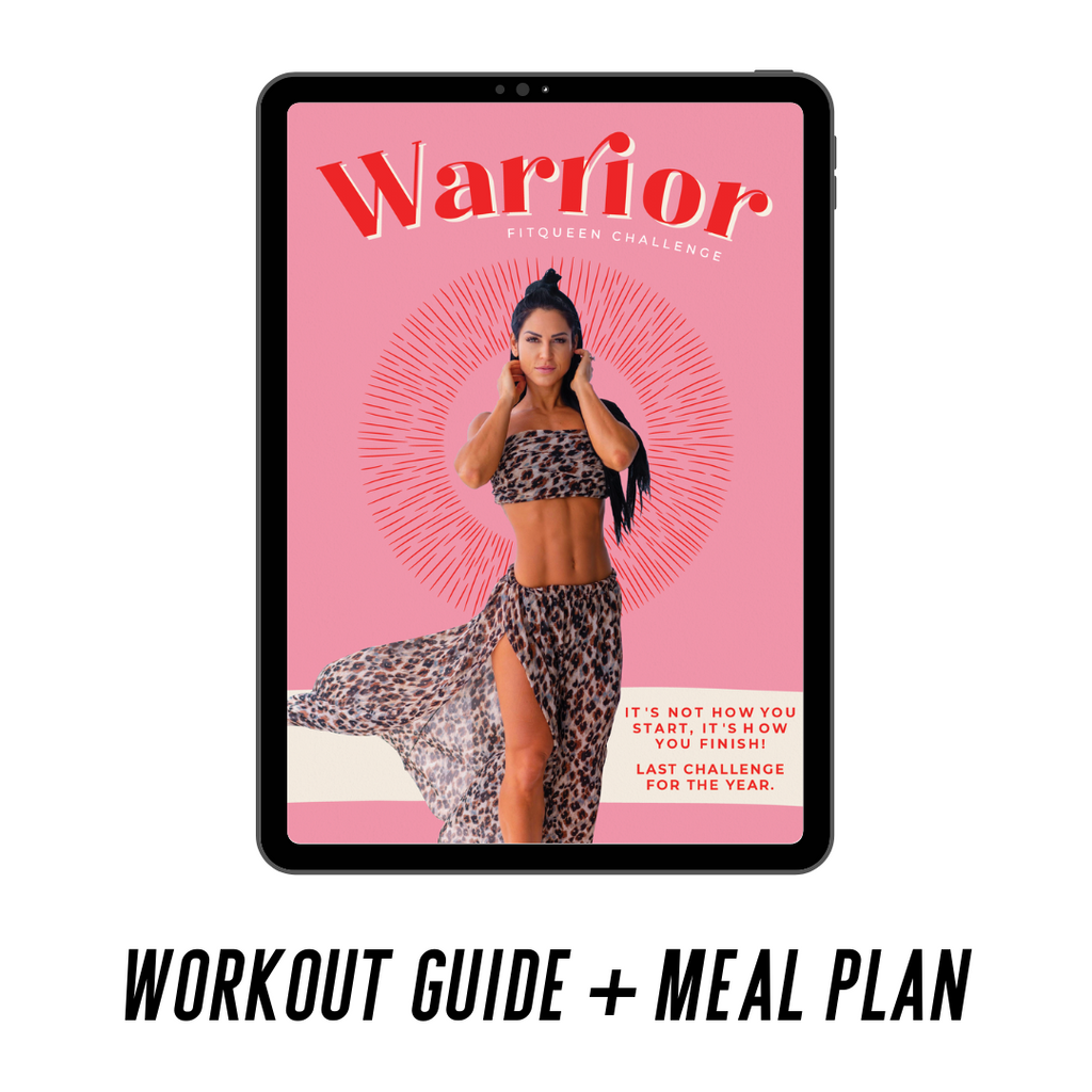 Warrior Workout Guide + Meal Plan