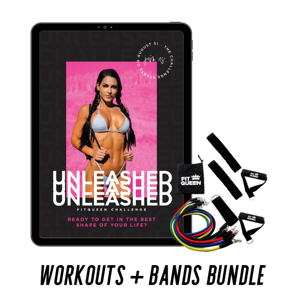 Unleashed Workout Guide + Bands Bundle