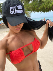 FitQueen Embroidered Hat