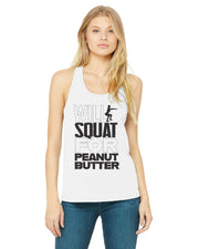 Squat For Peanut Butter Tank Top