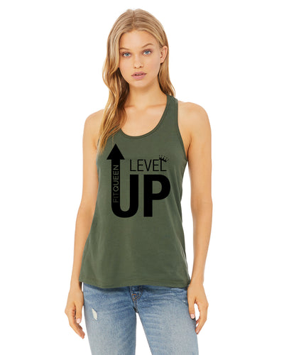 Level Up Racerback Tank top!!