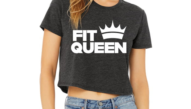FitQueen Crop T-Shirt