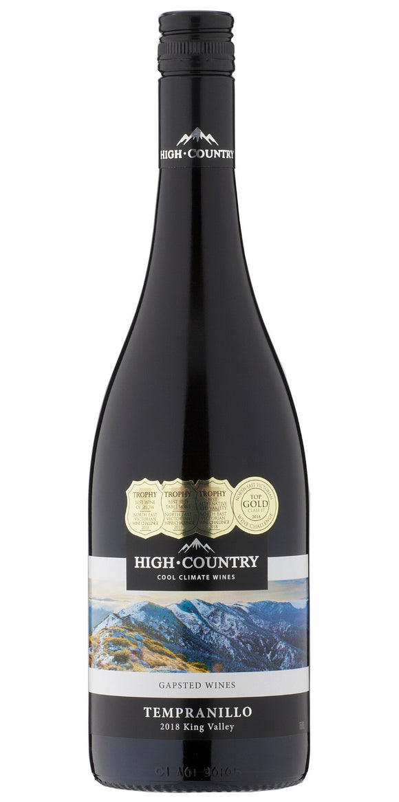 High Country Tempranillo - Gapsted Wines