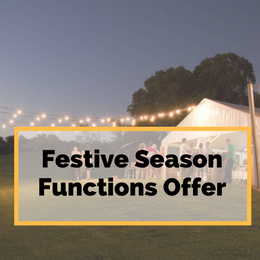 Festive Season Functions Offer - Gapsted Wines