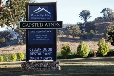 Murray to Mountains Rail Trail - Gapsted Wines
