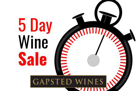 5 Day Wine Sale - Gapsted Wines