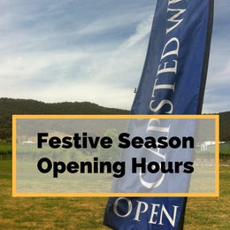 Gapsted Wines - Festive Season Opening Hours