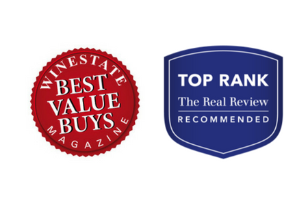 Winestate Magazine Best Value Buys and The Real Review Top Rank