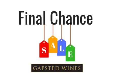 Final Chance Sale - Gapsted Wines