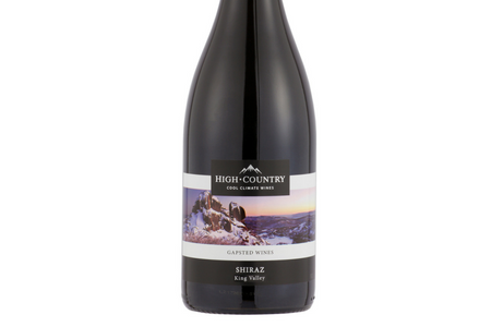 High Country 2017 Shiraz - Gapsted Wines