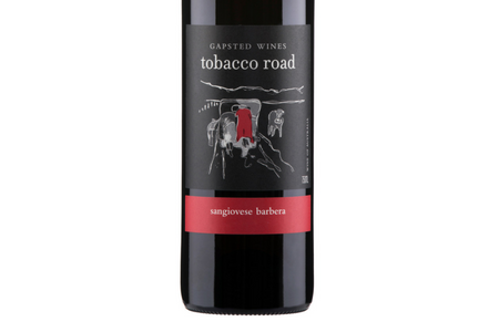 Tobacco Road 2017 Sangiovese Barbera - Gapsted Wines