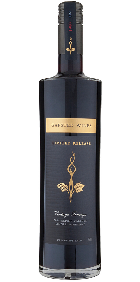 Limited Release 2018 Vintage Touriga - Gapsted Wines