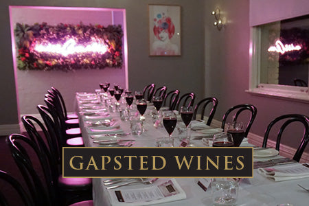 Miss Amelie Gapsted Wine Degustation Dinner