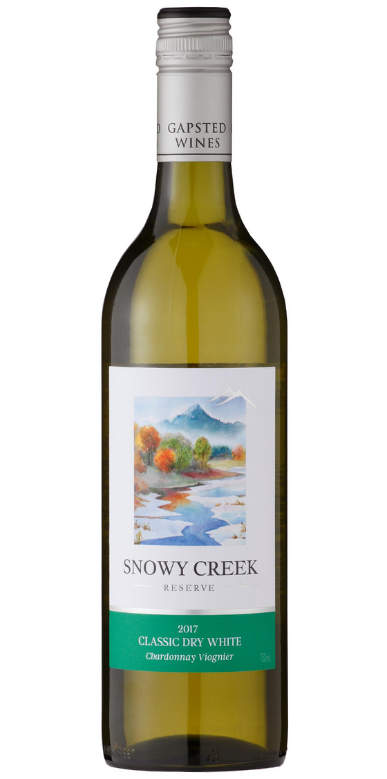 Snowy Creek 2018 Chardonnay Viognier - Gapsted Wines