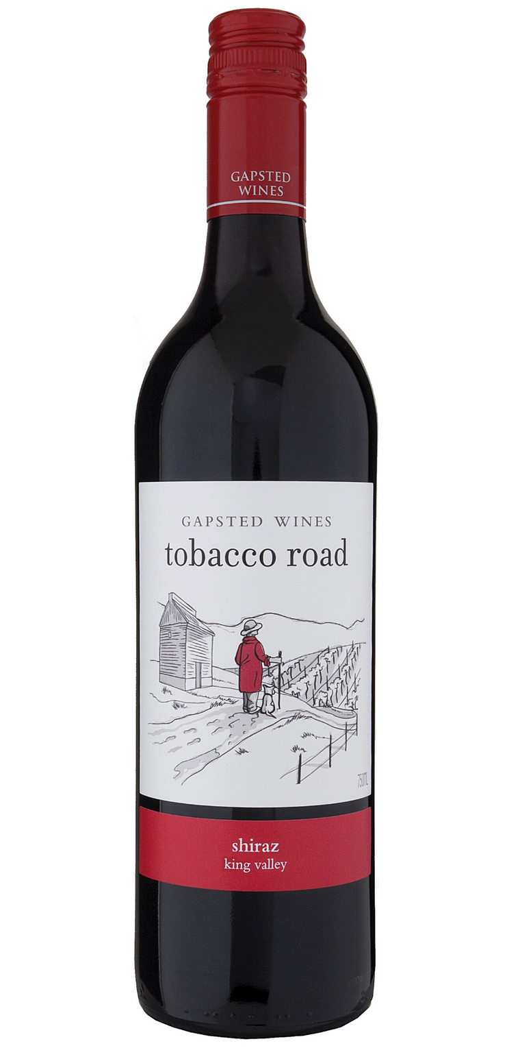 Tobacco Road 2019 Shiraz - Gapsted Wines
