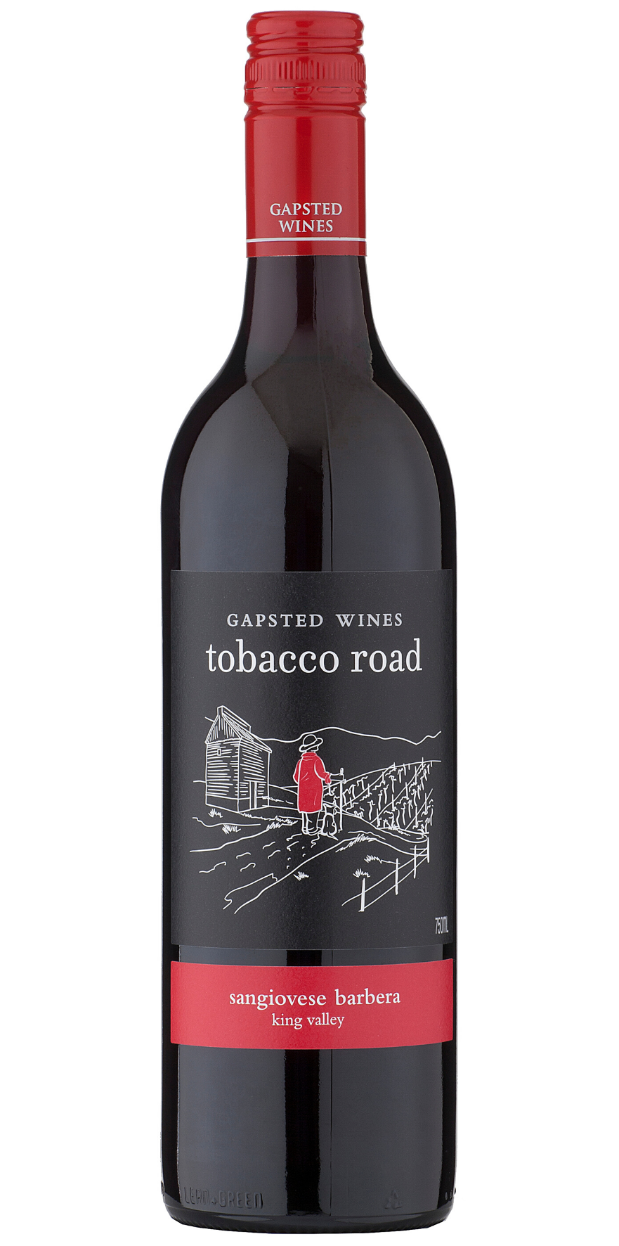 Tobacco Road 2019 Sangiovese Barbera - Gapsted Wines