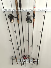 UNIVERSAL FISHING ROD RACK- Wall or Ceiling Mount