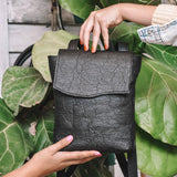 Daisy ~ Vegan Small Backpack (Made from Pineapple)