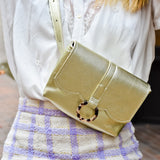 Hydrangea ~ Belt Bag ~ Gold