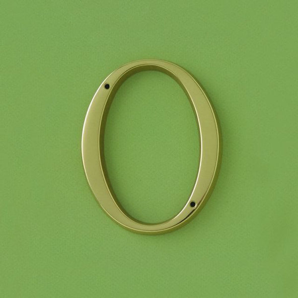 9002 brass numerals 120mm