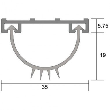 IS3021AMSI anti microbial blade seal
