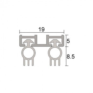 IS7130AMSI anti microbial frame seal