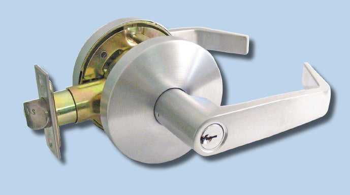 KL series key in lever locksets