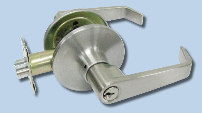 RL series key in lever locksets