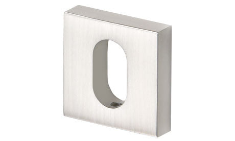 SOC square oval cylinder escutcheon