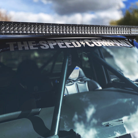 """SC"" 3M Die Cut Windshield Banner"