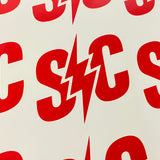 "Small ""S/C"" Die Cut Sticker (2 pack)"