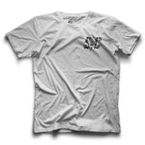 DIGITAL GREASE TEE WHITE