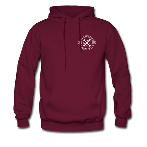 Wrench Hoodie - burgundy