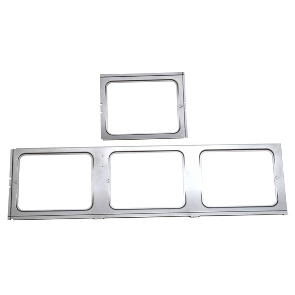 Upper Side Panel Inner Frame (4 Pop Outs) 1955-67 Type 2 T1 Bus - Drivers