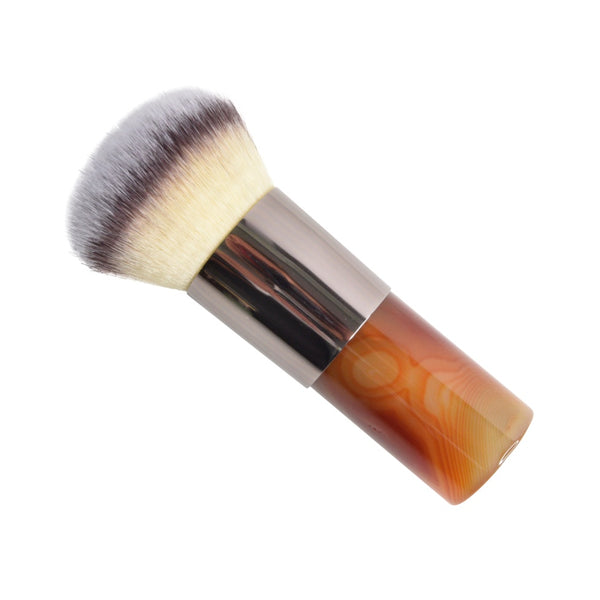 Carnelian crystal makeup brush, shop all crystal kabuki crystal make up brushes.