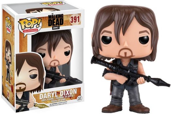 The Walking Dead - POP! Vinyl: Daryl w/ Rocket Launcher