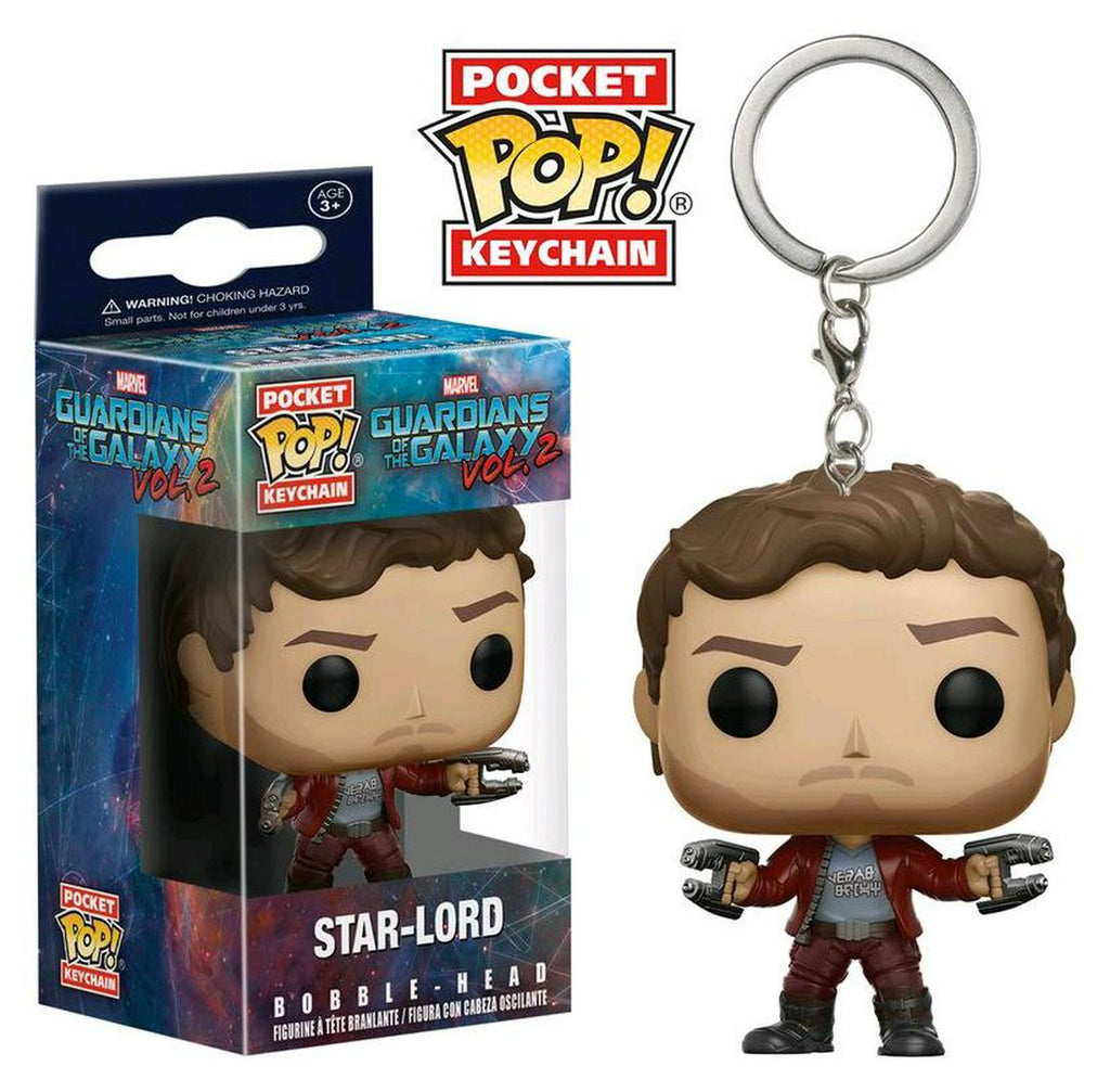Marvel - Pocket POP! Keychain: Guardians Of The Galaxy Vol.2 : Star-Lord