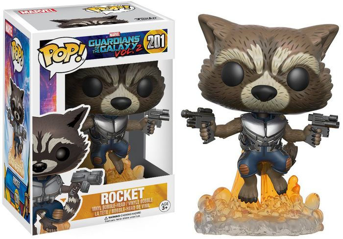 Marvel - POP! Bobble: Guardians O/T Galaxy 2: Rocket