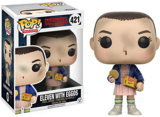 Stranger Things - POP! Vinyl: Eleven w/ Eggos