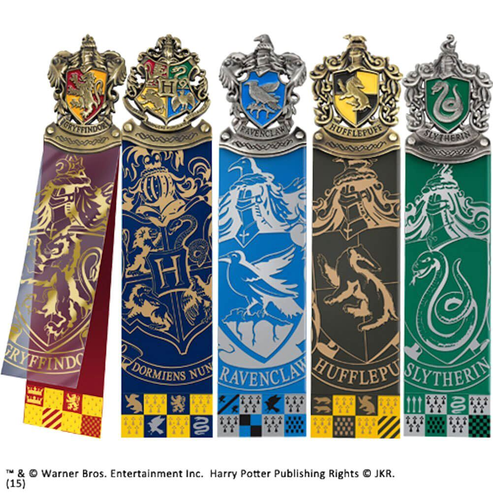 Harry Potter - Crest Bookmark Set