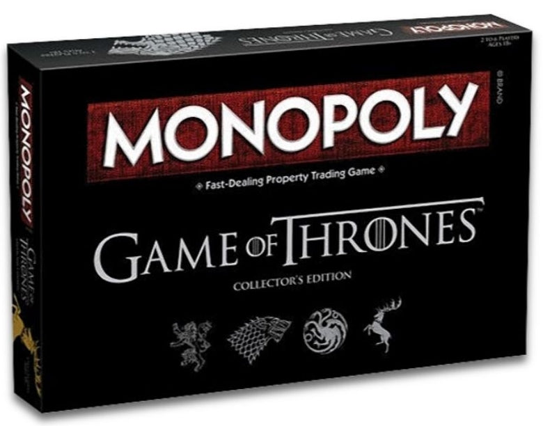 Game of Thrones - Monopoly (Serbian/Croatian/Slovenian) Monopoly