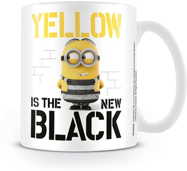 Despicable Me 3 - (Yellow is the New Black) Mug